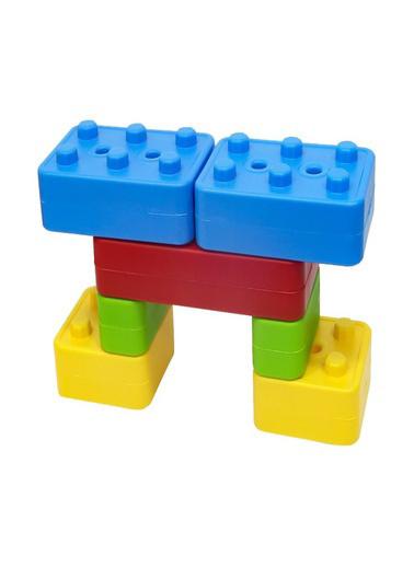 Dolu Dolu 5033 Tuğla Bloklar 24 Parça Renkli